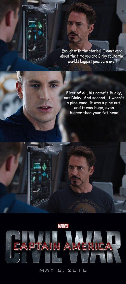 e8a5cb917549b3c416fd2661d8275c2e these 'captain america civil war' memes explain why tony and