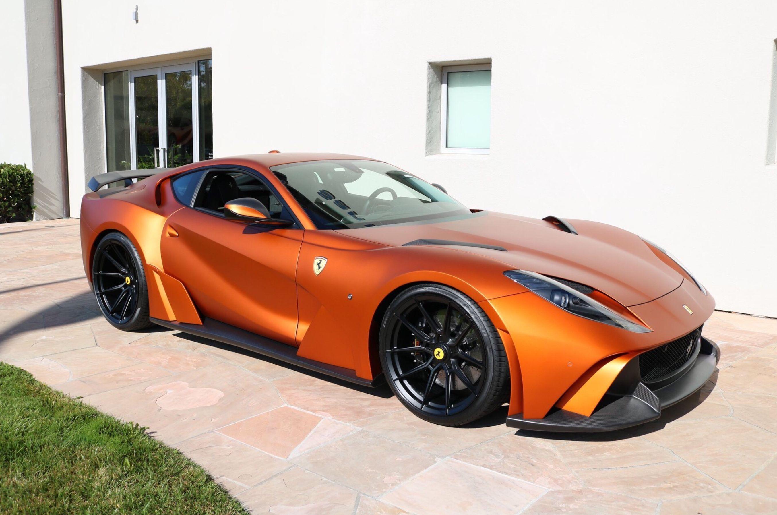 Available 2018 Ferrari 812 Superfast Novitec N Largo 789 000 2 283 Miles Luxury Cars For Sale Used Luxury Cars Hot Cars