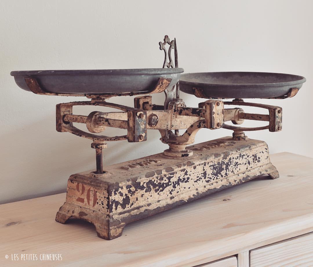 Les Petites Chineuses - Nouveauté ⭐️ #Balance #Ancienne