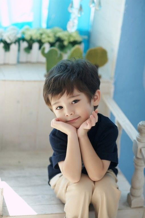 cute asian boy Young