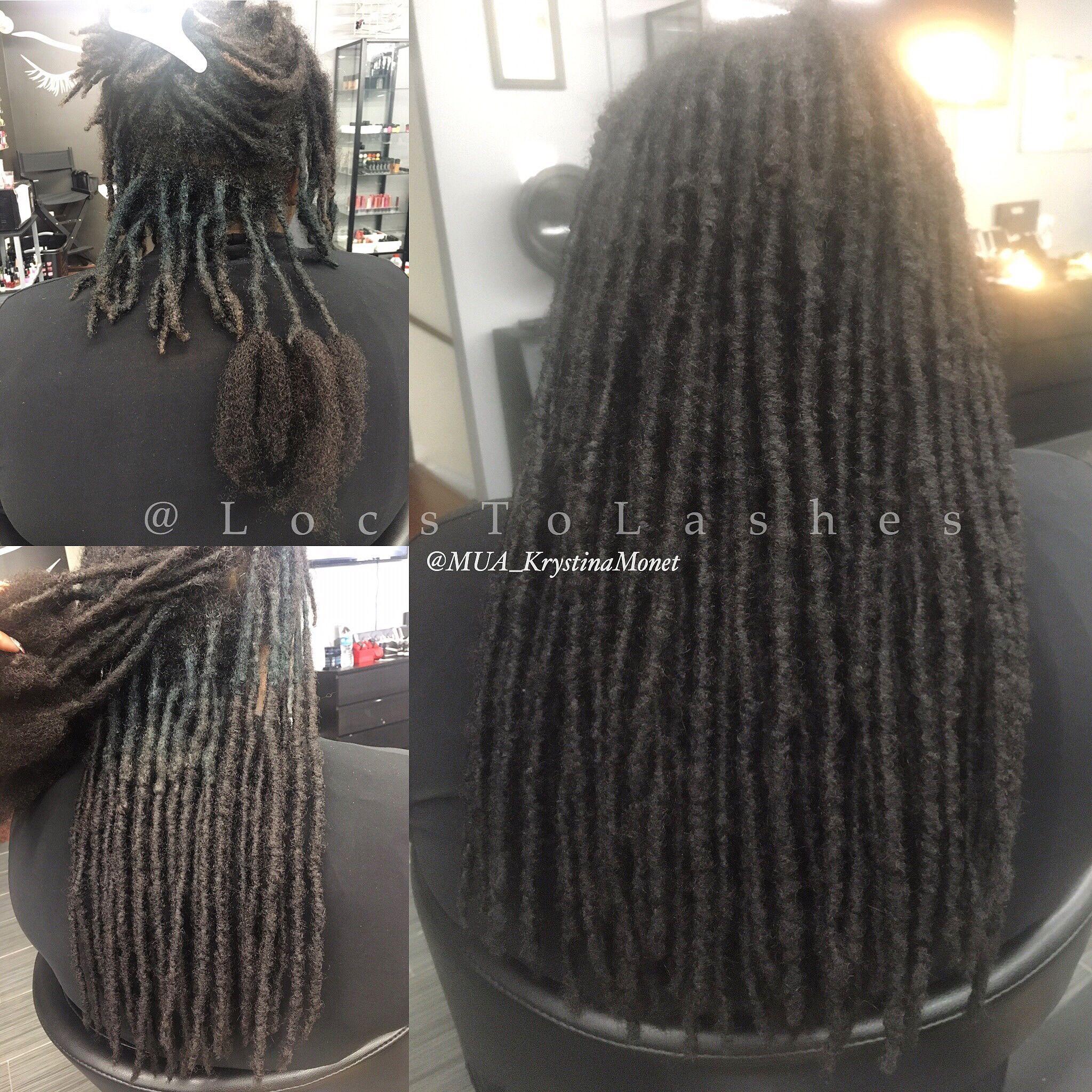 Permanent Loc Extensions Hair Pinterest Hair Natural Hair
