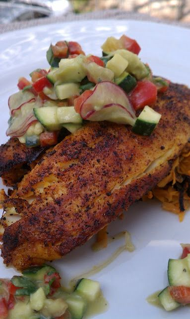 Blackened tilapia recipes to try pinterest comida for Comida para tilapia