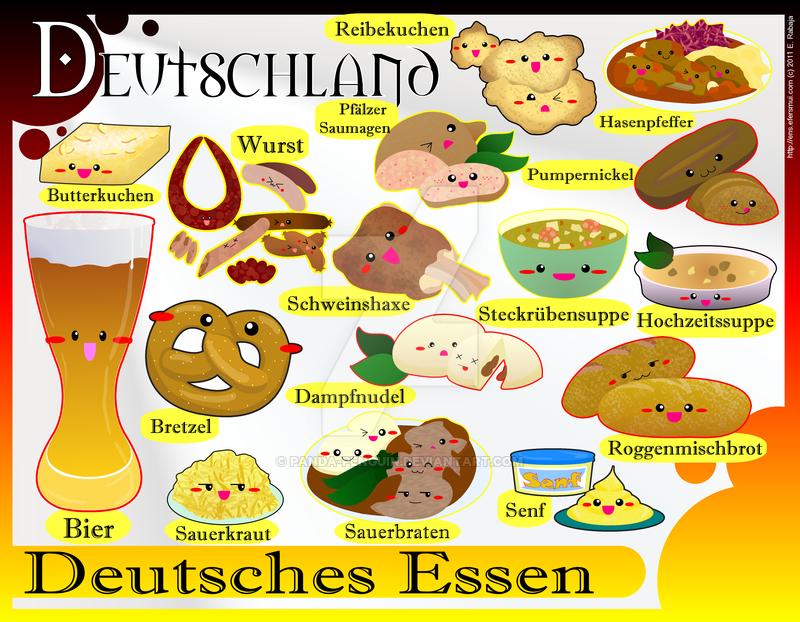 Foodies - Germany by panda-penguin on DeviantArt | Comidas ...