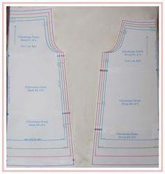 Pillowcase Dress Pattern Size 7: Pillowcase Dress Tutorial (using pillowcases) and free pattern    ,