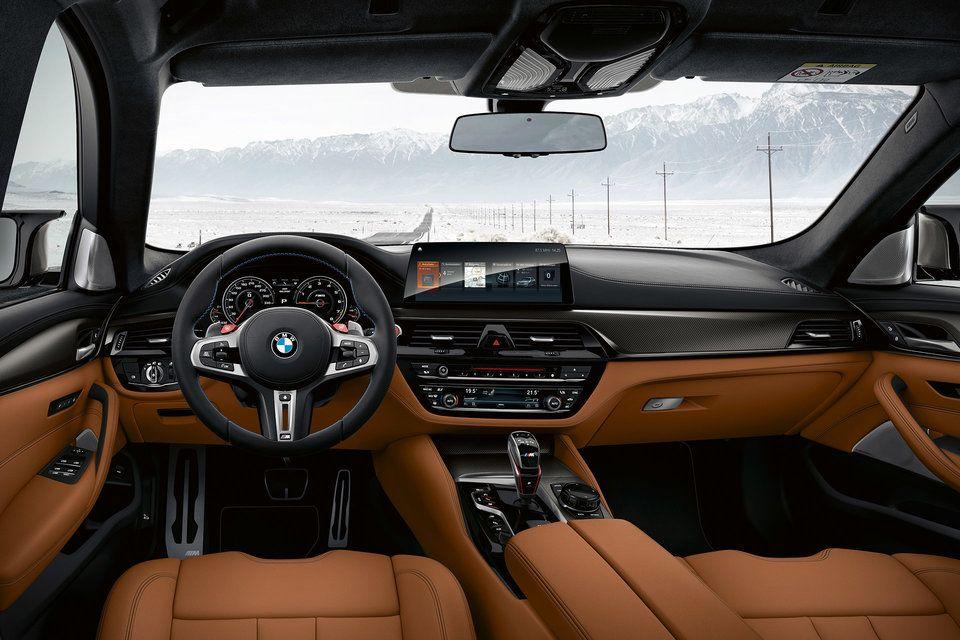 2019 Bmw M5 Competition Sedan Bmw M5 Bmw Interior