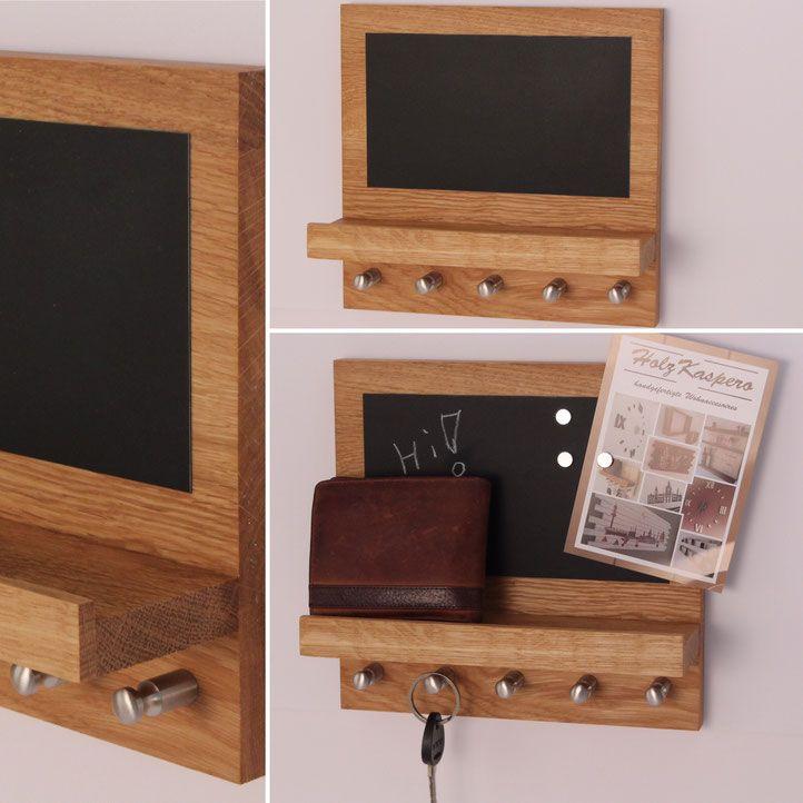 HolzKaspero Schluesselboard Magnettafel Schluesselbrett - magnettafel für die küche