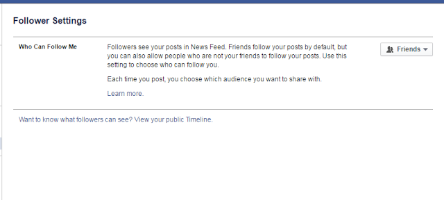 How To Turn On Followers On Facebook Facebook Help Center How To Use Facebook Deactivate Facebook