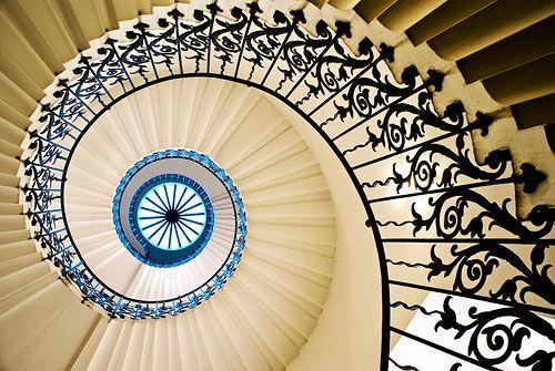 Fibonacci numbers real world design stairs for Fibonacci architecture