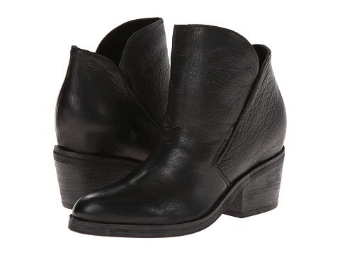 Dolce Vita Teague Black Leather Zappos Com Free Shipping