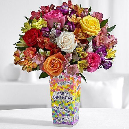 Introducing Birthday Splendor Same Day Flowers Delivery Online Gifts Present Ideas Happy Party