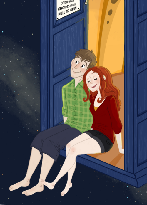 <3 Amy and Rory