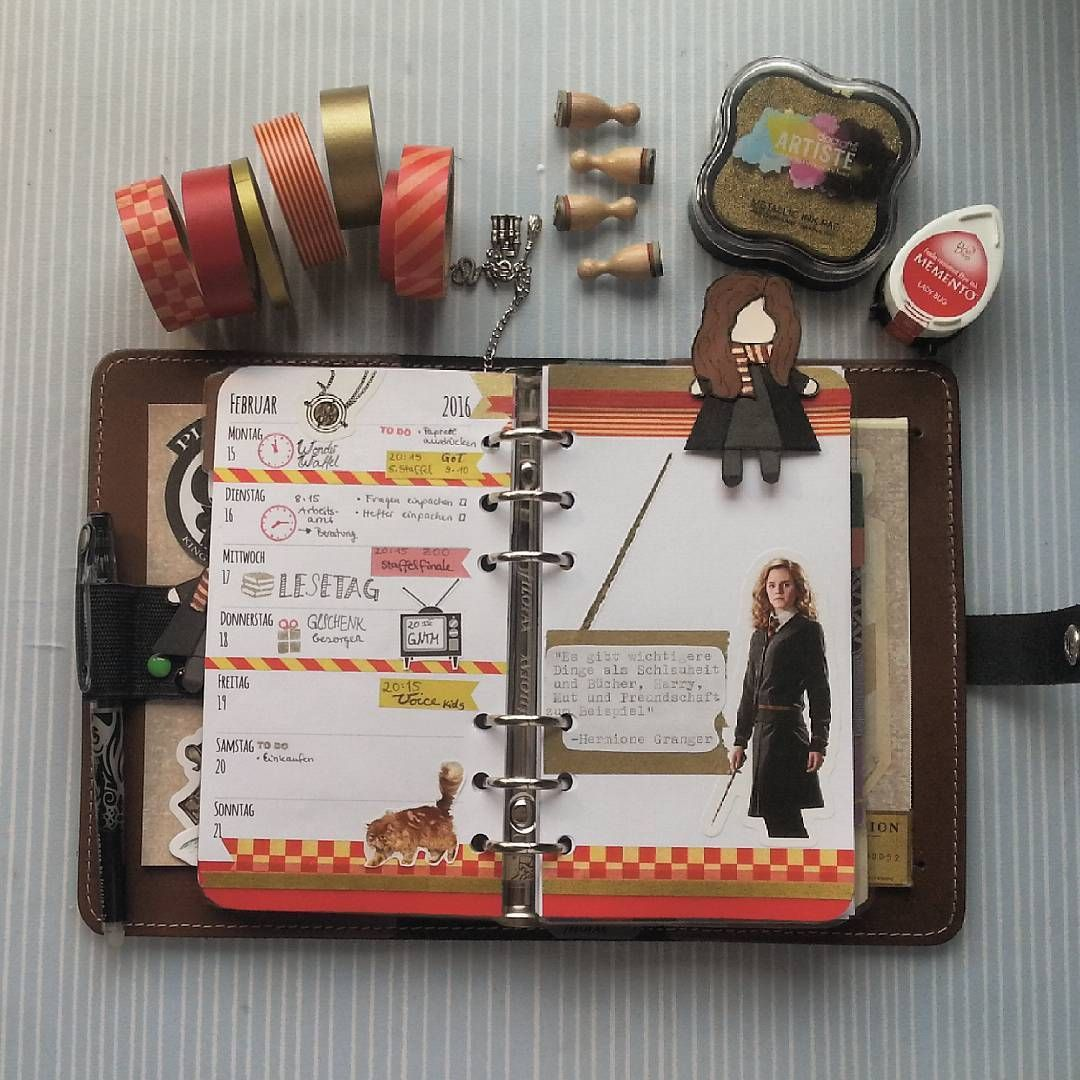 Potterfilo Instagram Photos And Videos Harry Potter Planner Harry Potter Diary Harry Potter Bag