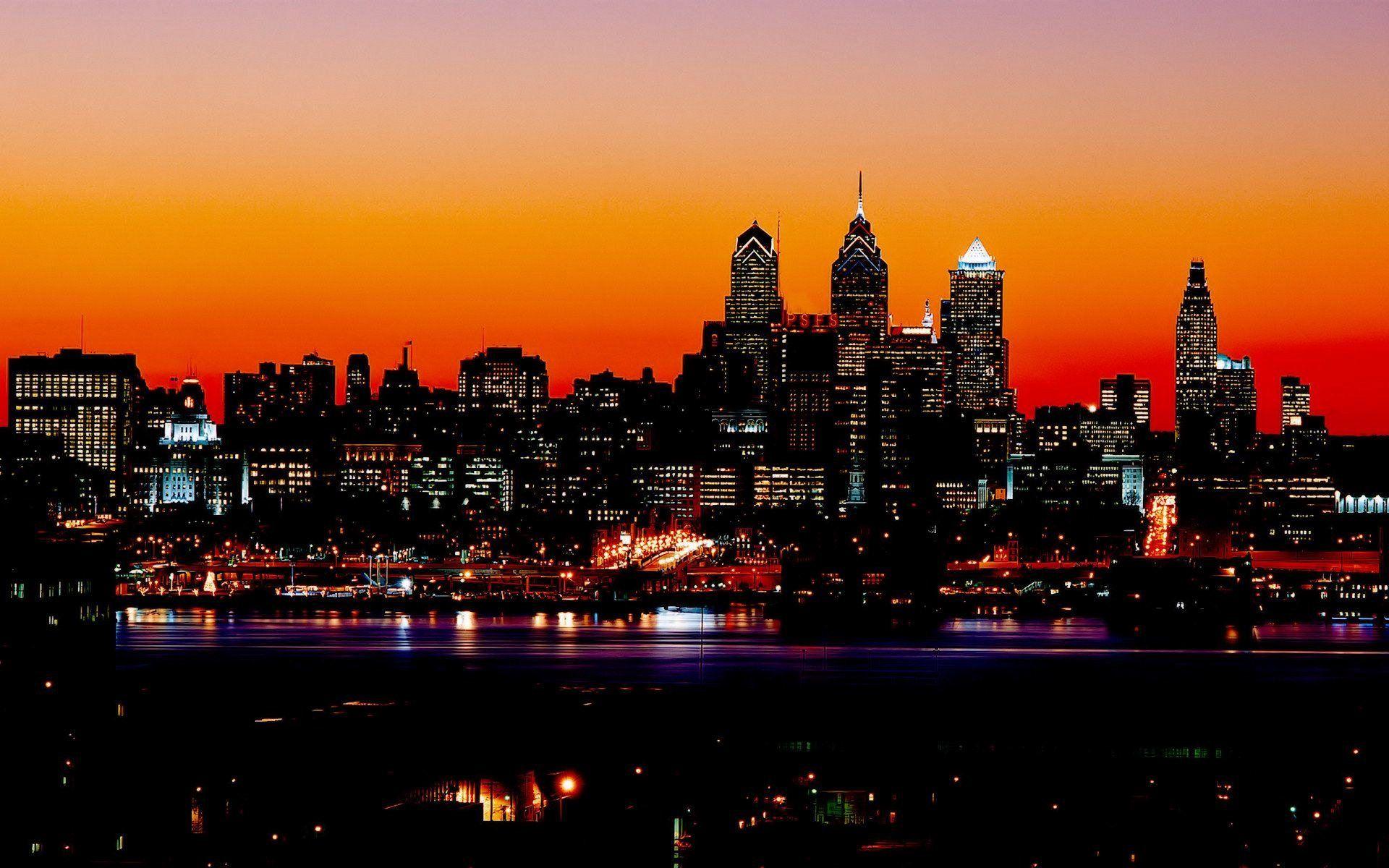 Night City Lights Hd Wallpaper   architecture/nature in 2019   City lights at night, City lights ...