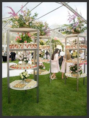 Once Upon A Wedding Food Bar Ideas