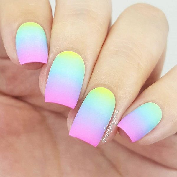70 Square Nail Art Ideas