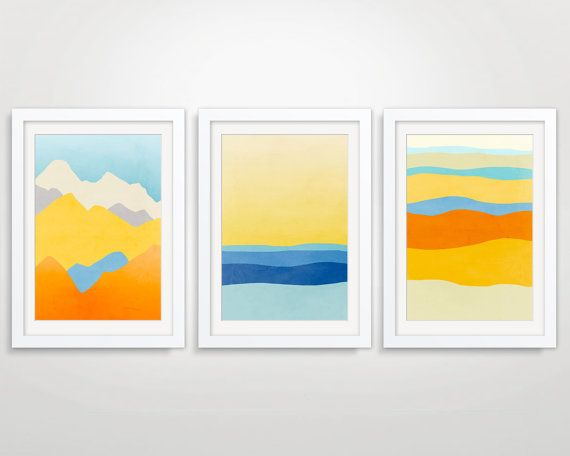 Abstract Landscapes | Gallery | Pinterest | Wall art sets, Modern ...