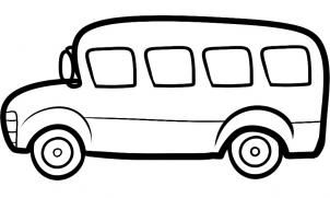 How To Draw A Bus For Kids By Dawn Bus Drawing School Bus