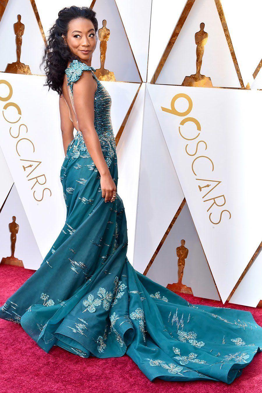 Betty Gabriel - 2018 Oscars (photo: Vanity Fair) | Nice ...