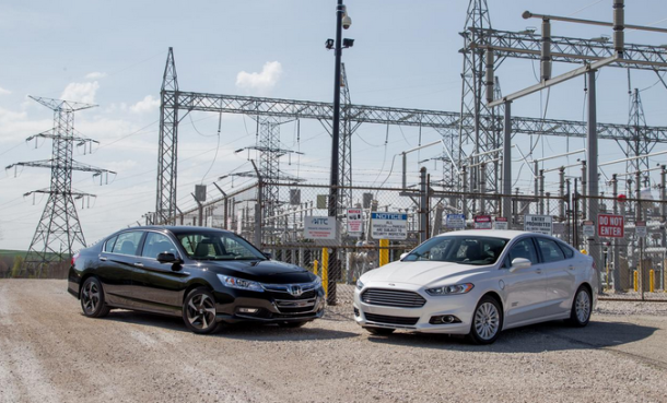 Comparison review - 2014 Ford Fusion vs. 2014 Honda Accord & Comparison review - 2014 Ford Fusion vs. 2014 Honda Accord | CARS ... markmcfarlin.com