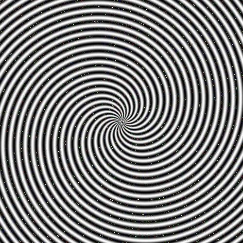 Trippy illusion that makes the room spin! - YouTube