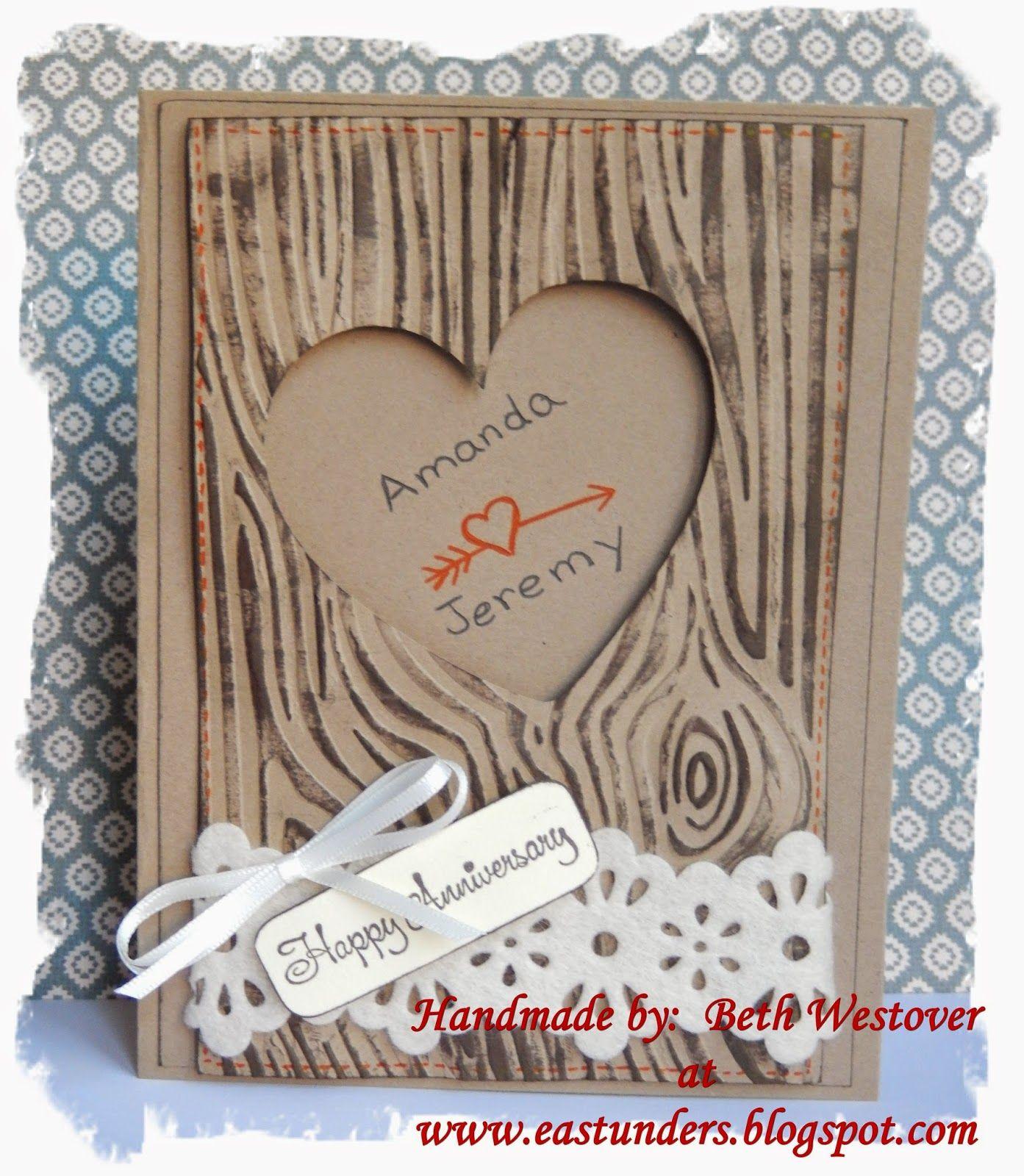 Eastunders Creations Tree Wedding Anniversary Anniversary Cards Handmade Engagement Cards Cricut Anniversary Card