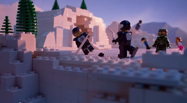 Against LEGO and Shell. Great video