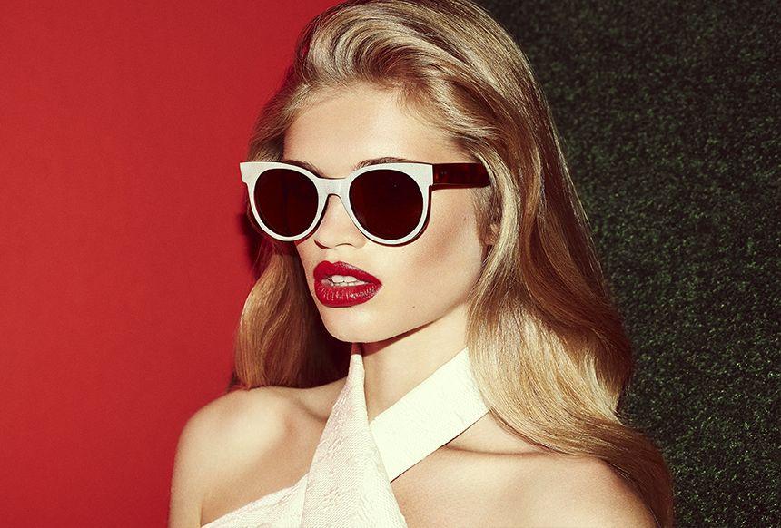 Avida Dollars from ZANZAN Spring/Summer 2014 campaign shot by Jon Gorrigan #zanzan #sunglasses #eyewear