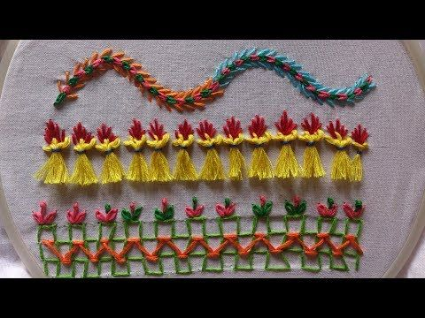 Hand Embroidery Embroidery Stitches Tutorial For Beginners Part 2
