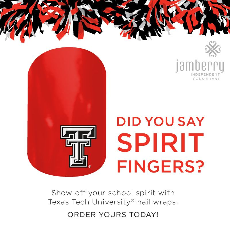 Licensed nail art to show off you school spirit!