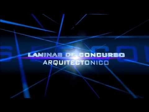 LAMINAS DE CONCURSO  ARQUITECTONICO