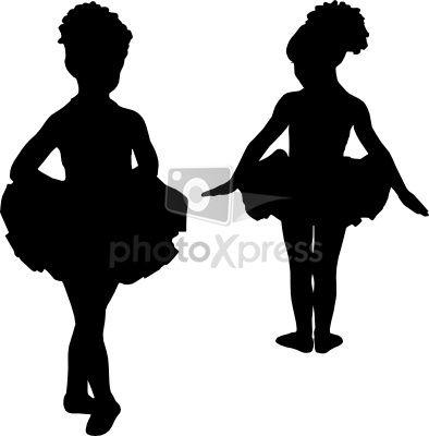 Ballerina+Silhouette | ballerina silhouette ballet stock ...