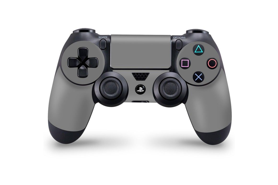 sony ps4 controller skin decal design mockup psd template gaming