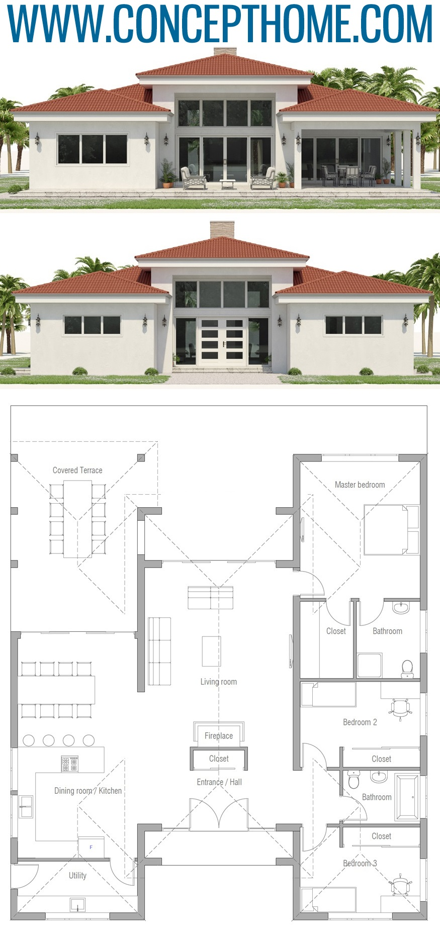 House Plan Ch573 House Layouts Sims House Plans New House Plans