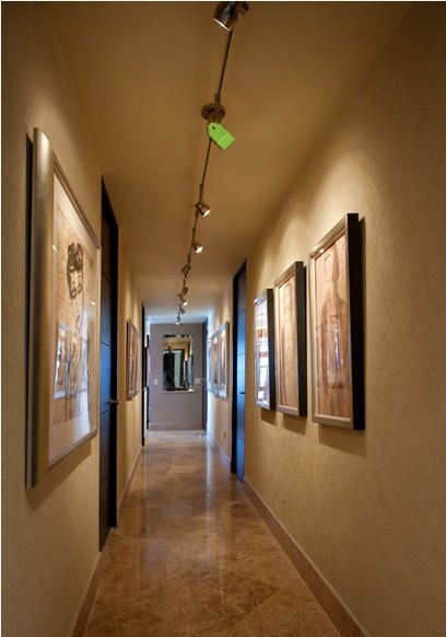 Dark hallway idea track lighting on artwork entry and hallway dark hallway idea track lighting on artwork entry and hallway ideas pinterest dark hallway walls and lights aloadofball Choice Image