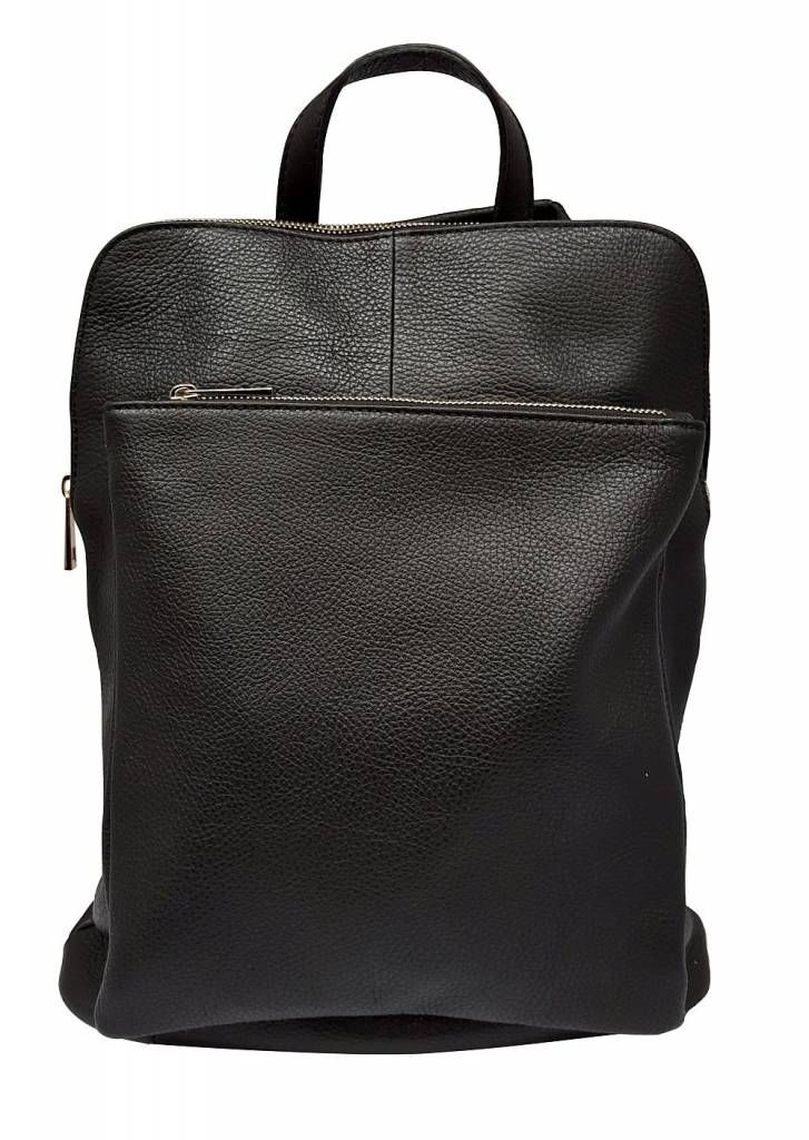 83a6e487d66 Joof Leren rugzak uit Italie zwart in 2019 | FASHION - Leather ...