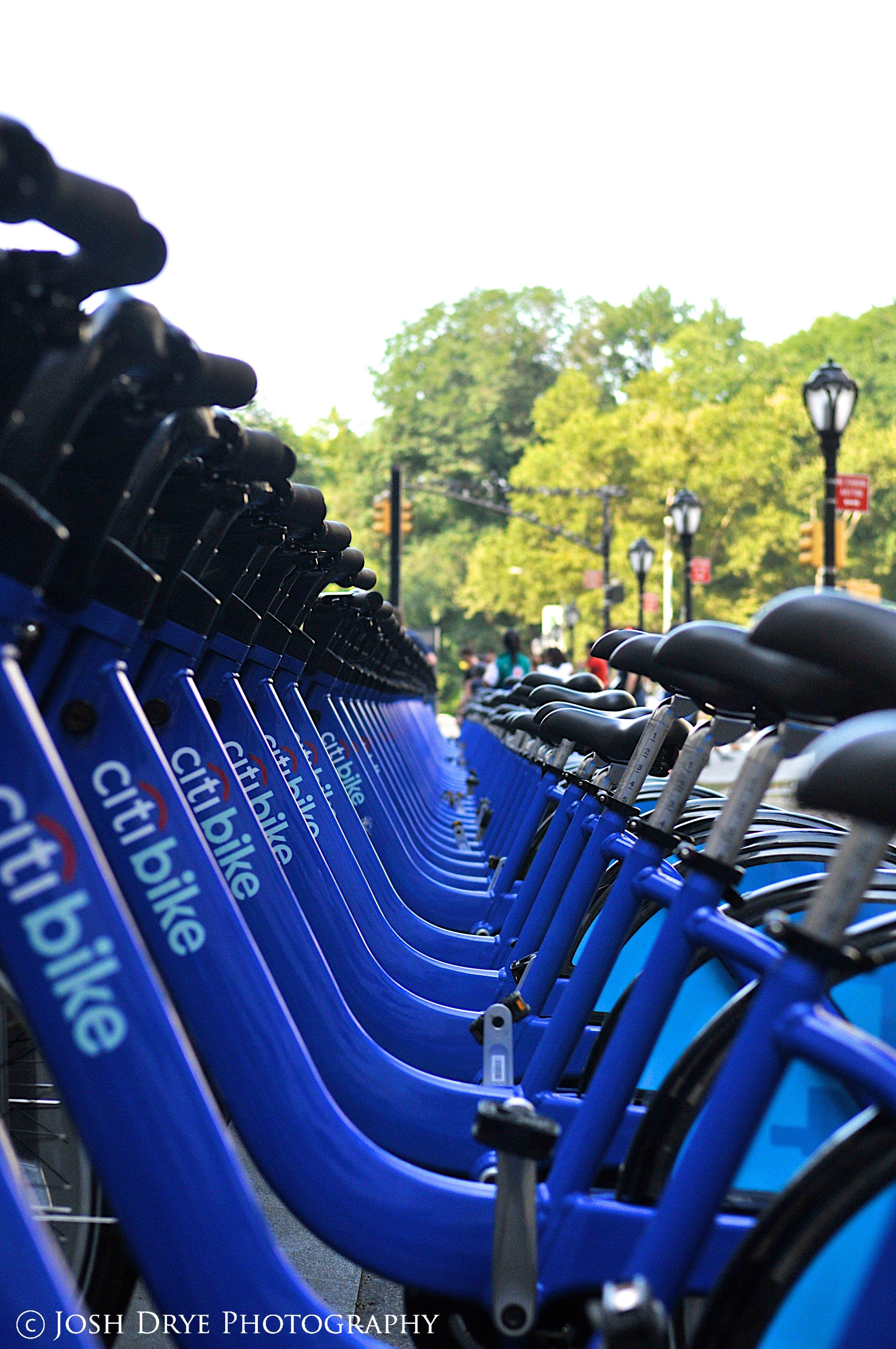 Bike rentals near central park new york city usa