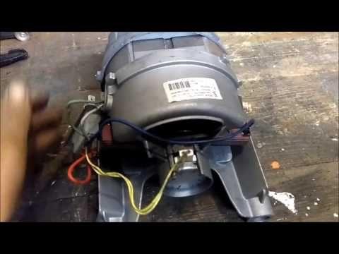 motore a spazzole lavatrice come collegarlo YouTube