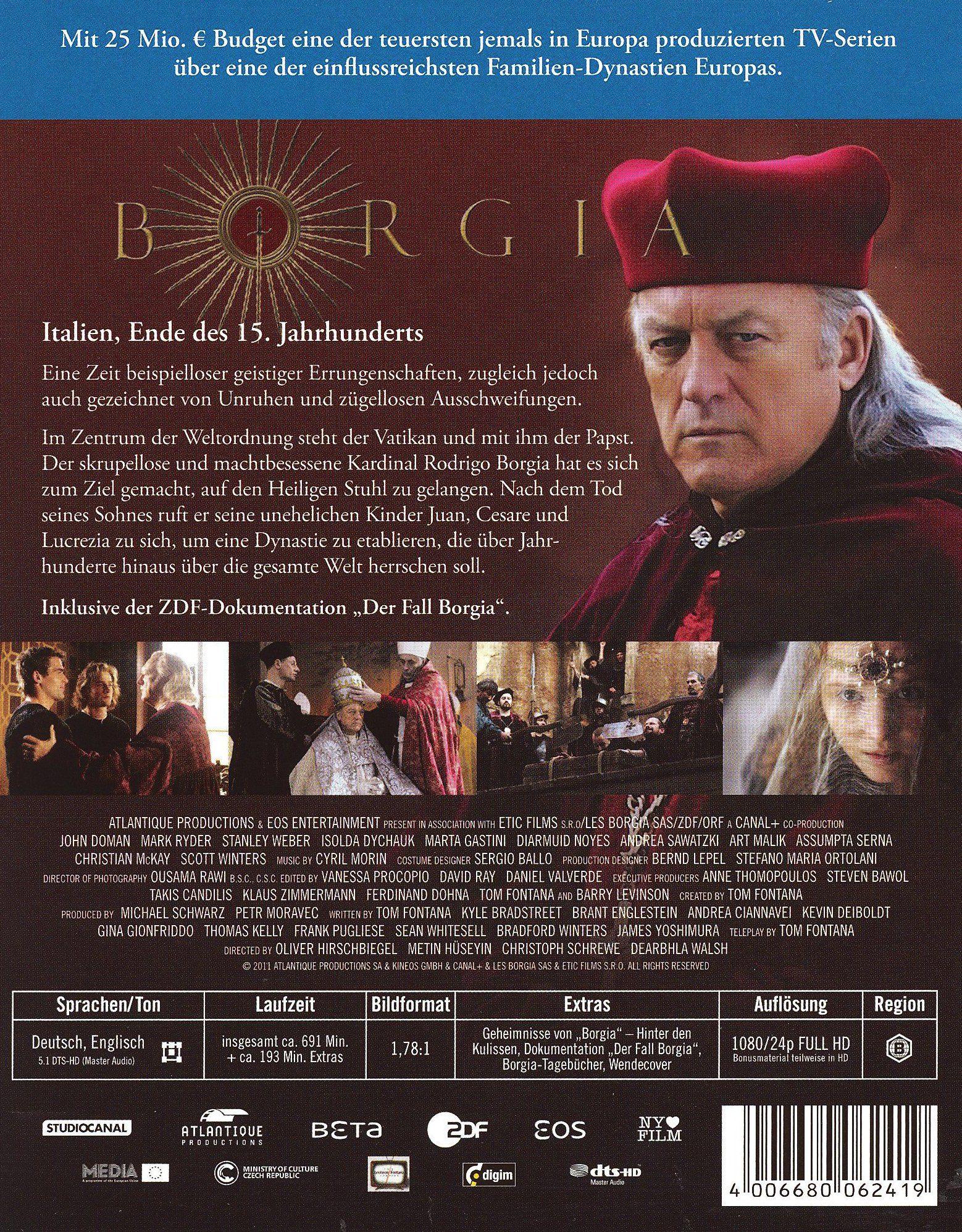 Borgia Staffel 1