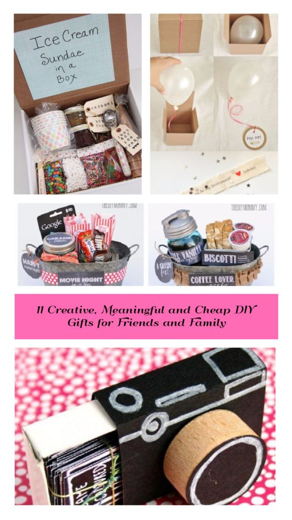 11 Creative Meaningful And Cheap Diy Gifts For Friends And