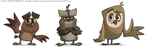 Owwwwls by Cryptid-Creations