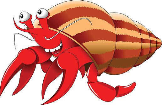 hermit crab clipart 2 jpg 516 334 vector art clip art rh pinterest com Khalifa Clip Art Insert Animated Clip Art