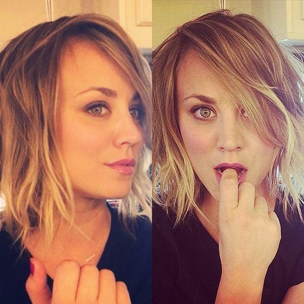 Image Result For Kaley Cuoco Short Bob Haircut Coupe De Cheveux Coiffures Pour Tous Les Jours Jolie Coiffure