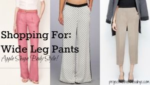 wide leg pants - what O's can look for
