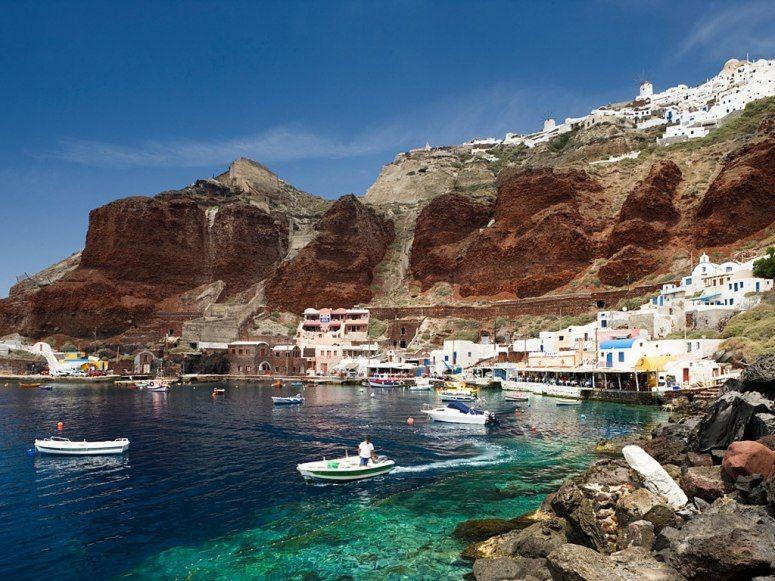 Sail to: Santorini, Greece