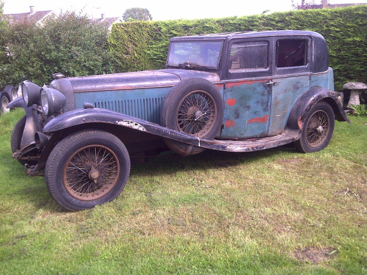 Lost Lagonda To Star In Wiltshire Classic Cars Classic Cars Trucks Car