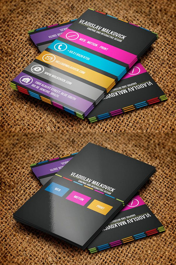 Designer Business Card 2 by Jorge Lima in 50 Business Cards for ...