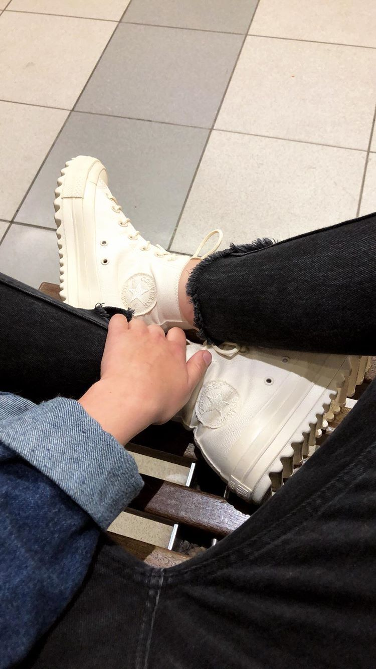 Converse ripple high   Shoe inspiration, Indie outfits, My style