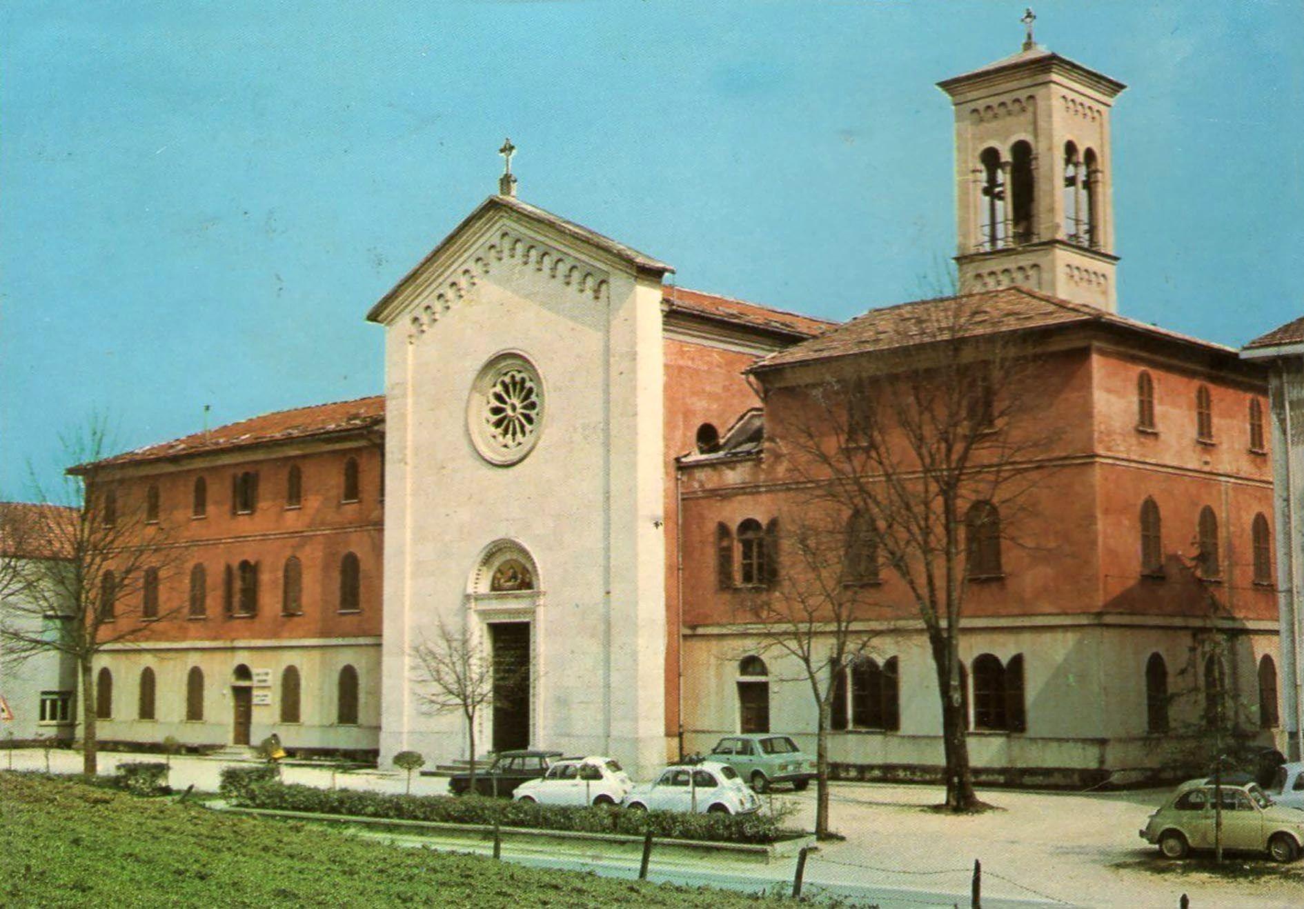 1980 - La chiesa parrocchiale di Bellisio Solfare