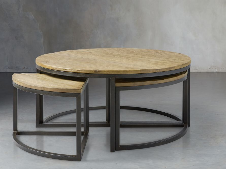 Palmer Round Nesting Coffee Table Arhaus Furniture In 2020