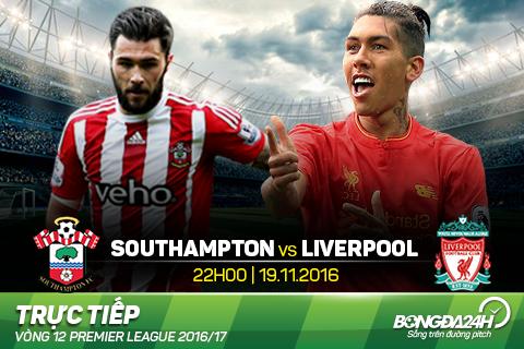 Trực tiếp Southampton vs Liverpool vào 22h0 ngày 19/11 ...